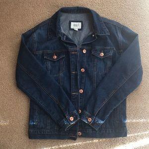 Forever 21 oversized denim jacket